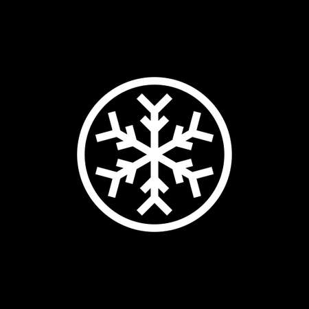 Cold icon. Snowflake sign icon. Air conditioning symbol. Vector 免版税图像 - 151775135