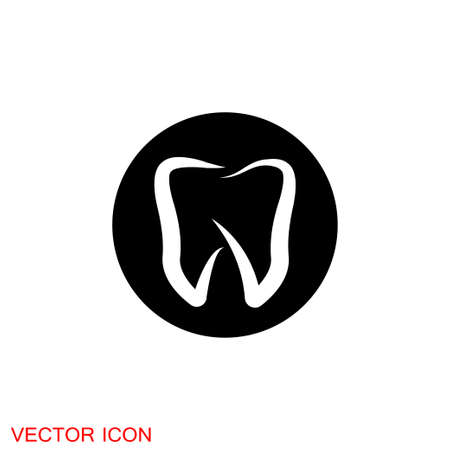 Dentist icon, Oral hygiene label vector illustration 矢量图像