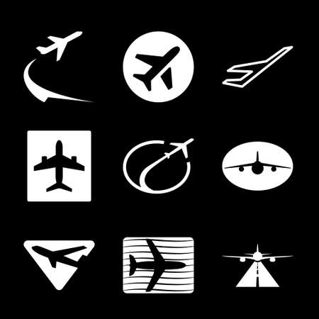 Airport icon design, vector illustration eps graphic