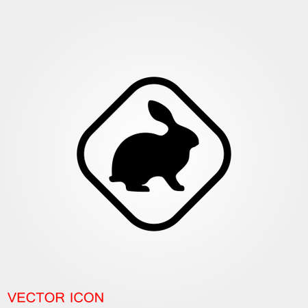 Animals icon. Stroke Animal Icons Vector Illustration