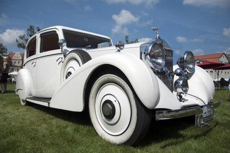 Rolls Royce Wraith 1939 18 08 2012 Polski Fiat 508 III Junak MotoClassic show in Sleza  near Wroclaw  - Poland