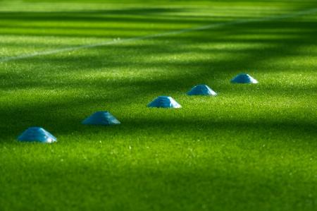 field  soccer: Equipo de entrenamiento de f�tbol