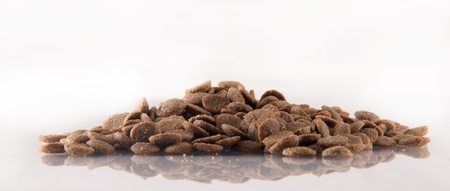 Dry feed from meat chicken for dogs photo