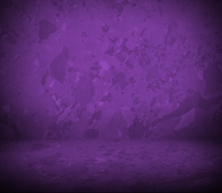 purple wall and floor interior  metal texture photo