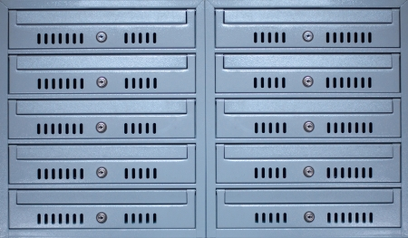 Modern letterboxes Stock Photo - 17310478