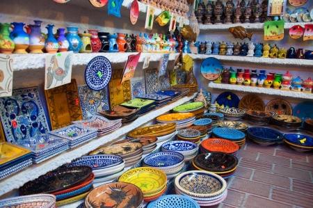 Traditional tunisian market
