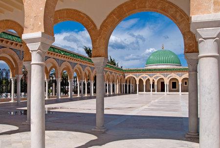 Mausoleum of Habib Bourgiba in Monastir, Tunisia