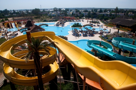 Tunisian water park
