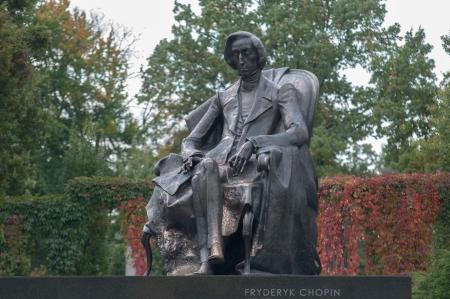 frederic: Frederic Chopin monumento en Wroclaw