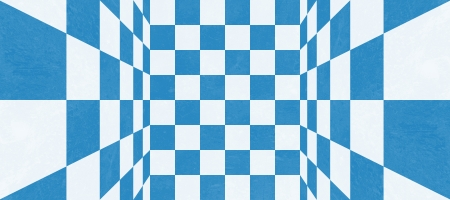 Abstract blue checkered texture photo