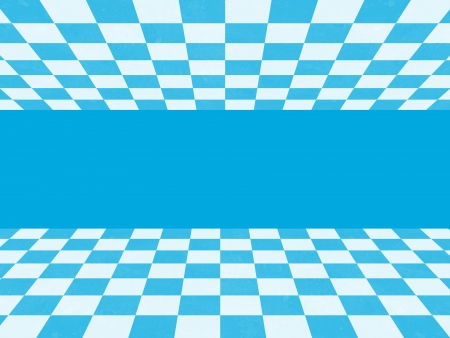 Blue checkered texture Stock Photo