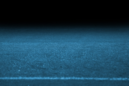 The soccer pitch with black gradient Stock Photo