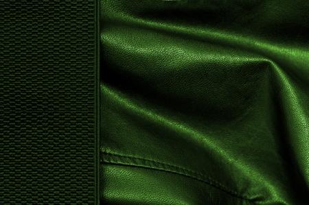 margine: sfondo greenleather con un margine
