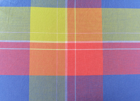 Fabric plaid texture. Cloth background photo