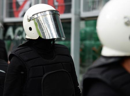 Special unit policeman