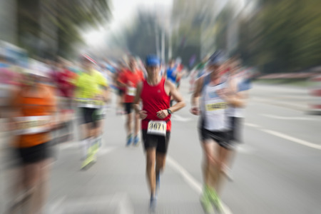maraton: corredor de marat�n internacional
