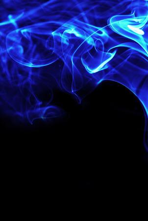 gas fireplace: blue fire flames energy frame