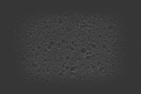 Texture of black sponge background or texture photo