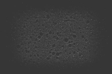 Texture of black sponge background or texture photo