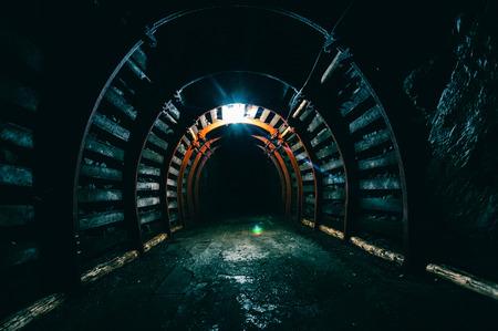 Underground Tunnel in the Mine
