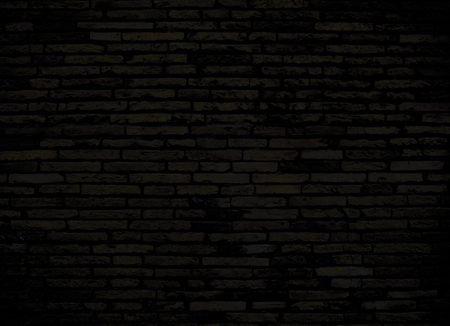 dark brick wall for background or texture