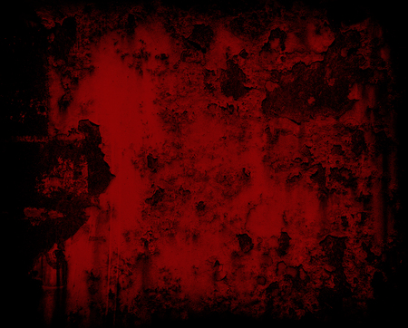 dark red grunge rusty metal wall background or texture