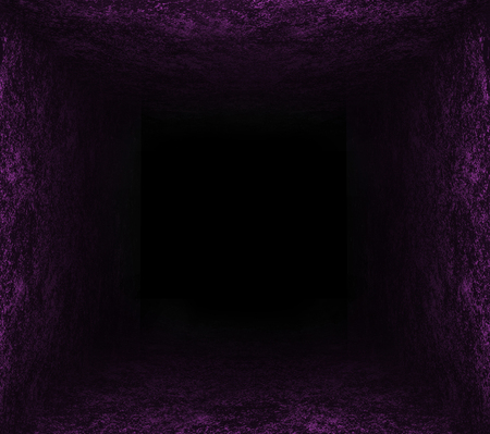 black hole: violet yellow blue hole. black background