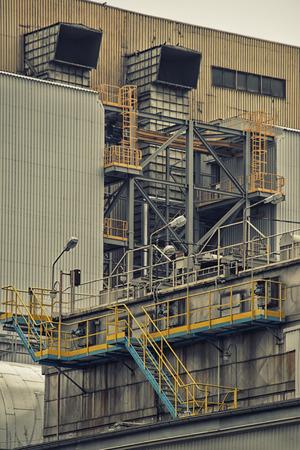 industrial: industrial building Stock Photo