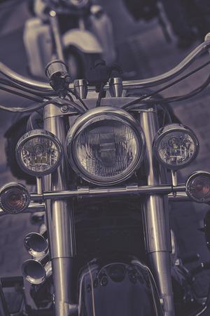 headlight: Motorcycle headlight