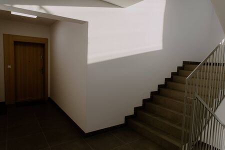 staircase in the building