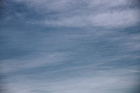 blue sky with clouds, background or texture