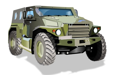 counterterrorism: Armoured car VPK-3927 Volk