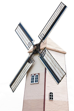 kinetic energy: A wind turbine is a device that converts kinetic energy from the wind, also called wind energy, into mechanical energy a process known as wind power  Stock Photo