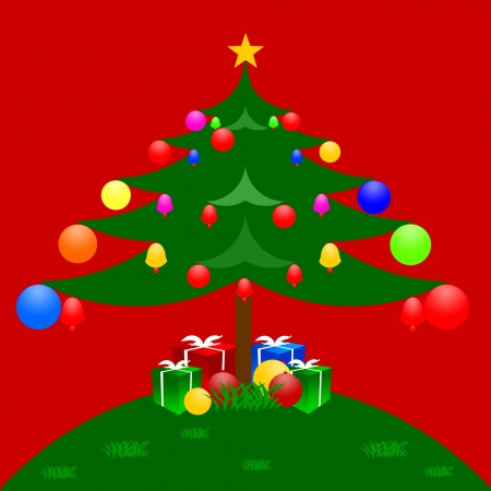 Christmas abstract isolated on white design for Merry Christmas Day and Happy New year. photo