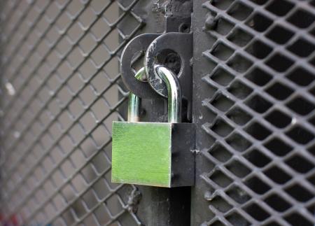 Master key lock the wall Stock Photo - 14972343