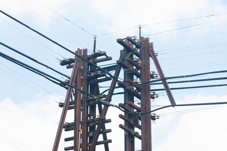 The power line. photo
