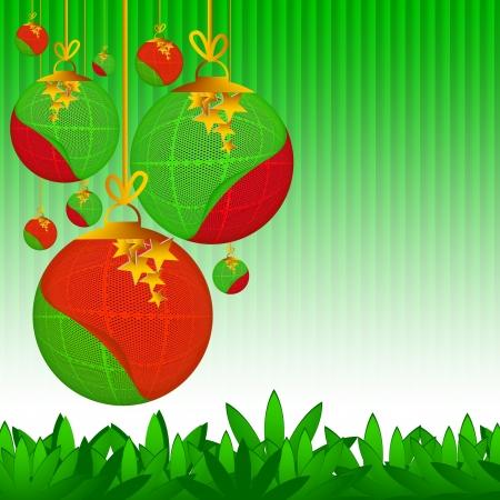 Abstract Christmas Design photo