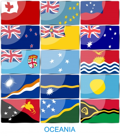 world flags: Flags of the WORLD Stock Photo