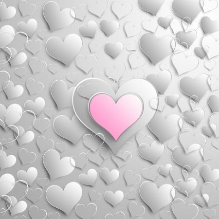 Valentine background design photo