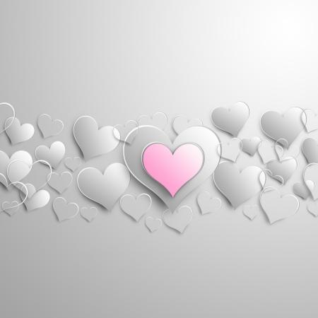hart: Valentine background design