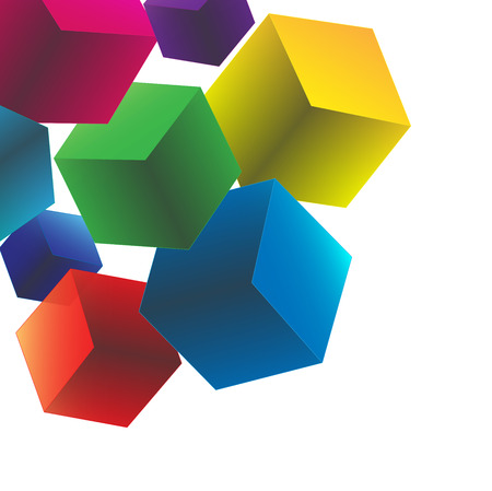 Square polygon Design  Vector