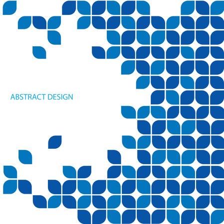 블루 추상적 인 디자인