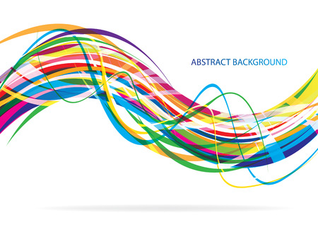 Abstract background color design