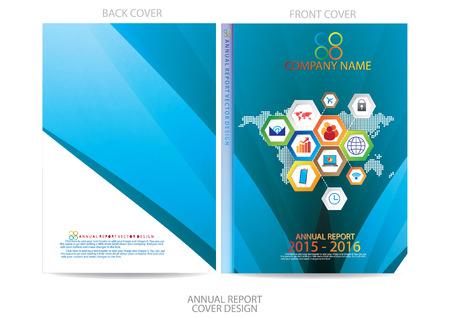 page couverture: Conception de la couverture du rapport annuel
