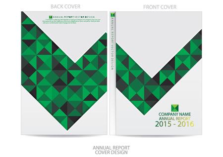 report: Annual report cover design