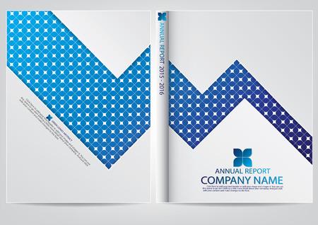 Annual report cover design Imagens - 38372120