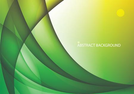 Curve abstract design 일러스트