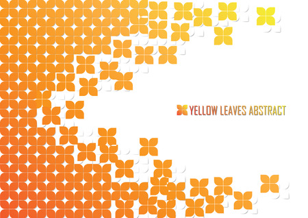 leave: Yellow leave background