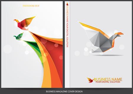 folders: Diseño de la cubierta Informe anual