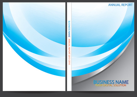 catalog: Annual report cover design